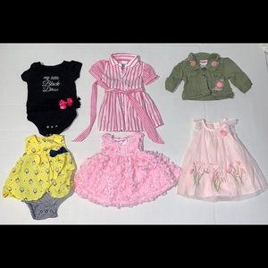 Infants Dress and Jacket Bundle. NB/0-3 Months.